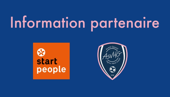 PARTENAIRE : Start People (agence d'emploi)