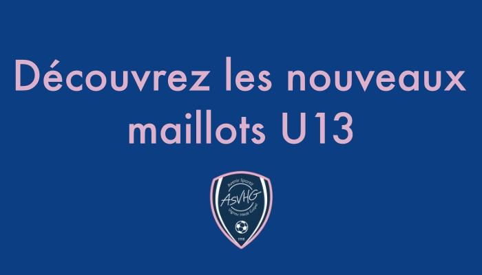U13 : Nouveaux maillots 👕