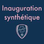 Inauguration du synthé 🏟