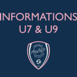 Informations U7 & U9 ⚽️