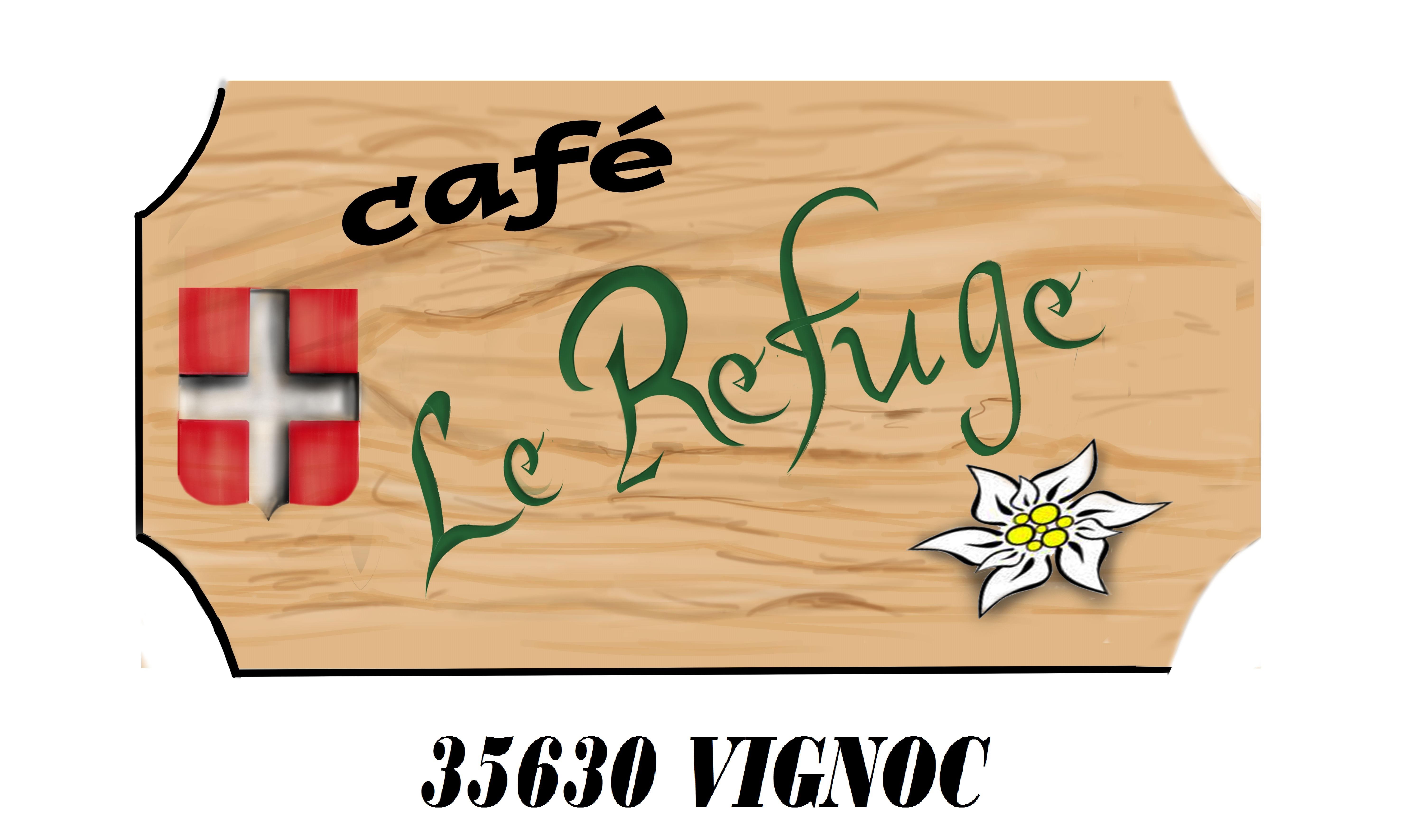 logo-le-refuge - tee shirt
